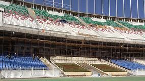 Foto de Daplast suministra los asientos para los grader�os del Estadio Ol�mpico de Argel