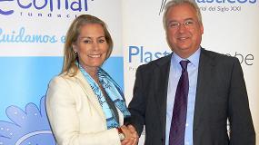 Foto de PlasticsEurope y la Fundaci�n Ecomar unidos para la educaci�n ambiental