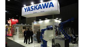 Foto de Picking, packing y paletizado en el stand de Yaskawa