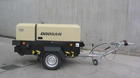 Foto de Doosan lanza su nuevo compresor portátil 7/53 con motor Fase IIIA