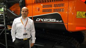 Foto de Entrevista a Marco Buratti, director de Doosan Infracore Construction Equipment para el sur de Europa