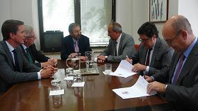 Foto de Los gestores de residuos peligrosos firman un acuerdo con la Oficina Española de Cambio Climático para reducir el gas SF6
