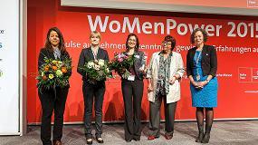 Foto de La ingeniera Agnes Bagsik de Arburg, finalista en el premio 'Engineer Powerwoman 2015'
