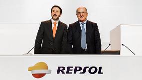 Foto de Antonio Brufau anuncia a los accionistas de Repsol que la integraci�n de Talisman ser� efectiva el 8 de mayo