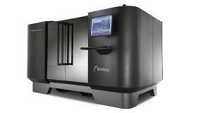 Foto de Stratasys muestra su impresora 3D Objet1000 Plus de gran escala en Hannover Messe 2015