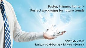 Foto de Sumitomo (SHI) Demag celebra los 'Packaging Days 2015' en Schwaig (Alemania)
