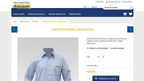 Foto de Nueva web de comercio electrónico para los seguidores de la marca New Holland