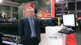 Picture of Entrevista a �ngel Artola, director de Iberia e Italia de Agfa Graphics