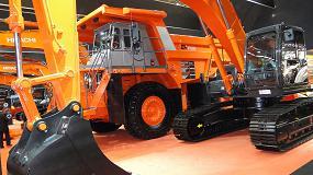 Foto de Gran presentación de la excavadora y pala cargadora híbrida Zaxis-6 de Hitachi en Intermat