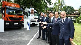 Foto de Iveco, la marca de vehículos comerciales e industriales de CNH Industrial, desembarca en Malasia