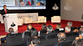 Foto de Banco Santander y FIAB apuestan por la internacionalización y la dinamización