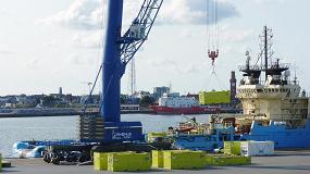 Foto de Siemens elige a Cuxport como el especialista en logística de servicio para sus plataformas marítimas en el Mar del Norte