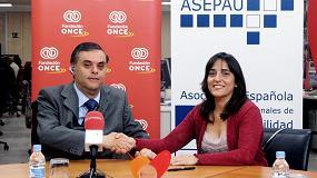 Foto de Fundaci�n ONCE y Asepau se unen para mejorar la accesibilidad universal y garantizar el dise�o para todos