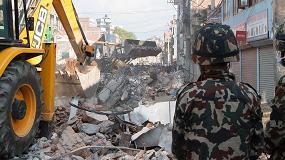 Foto de JCB env�a m�s m�quinas a Nepal tras el segundo terremoto