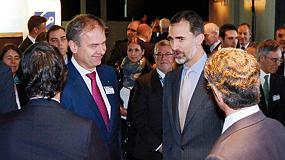 Foto de El rey Felipe VI visita Bielefeld, localidad de Boge Compresores