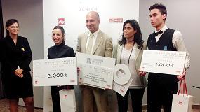Foto de Victoria Lozano, de la escuela IES Praves de Valladolid, se proclama Maestro del Espresso Junior 2015