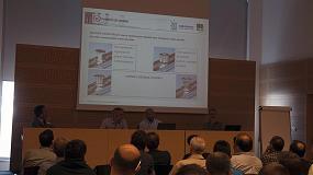 Foto de VBH en la formación de la 1ª edición del curso de instalación de ventanas eficientes energéticamente
