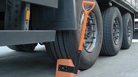Picture of �ngel Mir ampl�a la oferta de calzos de seguridad para el bloqueo de camiones