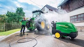 Foto de John Deere potencia la limpieza de su maquinaria durante todo el año