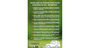Foto de TNU presenta su decálogo de buenas prácticas ecológicas del neumático