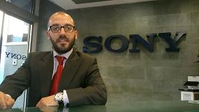 Foto de Entrevista a Ra�l Aguilera, Channel Account Manager de Sony Videosecurity - Iberia - Professional Solutions Europe