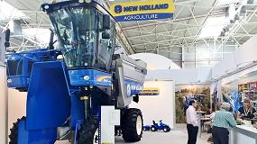 Foto de New Holland presenta la nueva vendimiadora Braud 9090X Plus en Expoliva