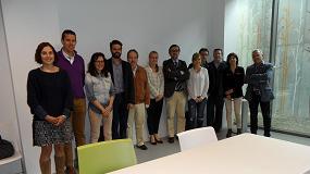 Foto de Encuentro en Barcelona entre los responsables t�cnicos de las empresas asociadas de Anfapa y Afelma