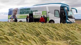 Foto de El Hyvido Tour de Syngenta recorre los campos sembrados de cebada híbrida