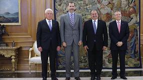 Picture of El Rey Felipe VI recibe al CEO de Dow en su visita a Espa�a