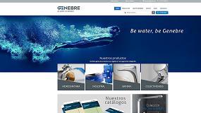 Foto de Genebre actualiza su portal web