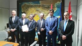Foto de Fegeca firma el Convenio de colaboración con la Fundación de la Energía de la Comunidad de Madrid