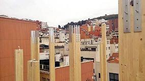 Foto de Rothoblaas suministra uniones y l�minas impermeabilizantes para el edificio de cinco alturas de Barcelona