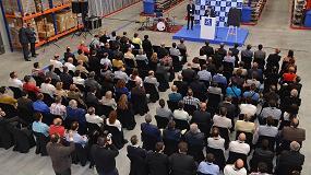 Foto de Gran inauguración de las nuevas instalaciones de Reynaers Aluminium en España