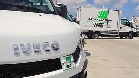 Foto de Iveco refuerza la flota de Petit Forestier en España con 100 nuevos vehículos