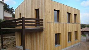 Foto de Primera casa de madera y paja certificada Pasiva en España