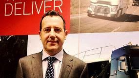 Foto de Juan Carlos León, nuevo coordinador de Ventas a la Administración de Renault Trucks
