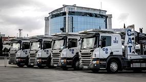 Foto de La empresa Toquero-Ultt incorpora a su flota 14 Scania P 410