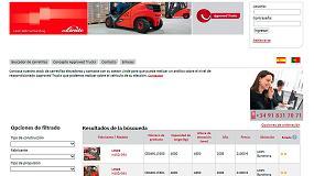 Foto de Nueva web Approved Trucks de Linde Material Handling Ibérica