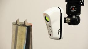 Foto de Nikon Metrology presenta su nuevo esc�ner l�ser InSight L100 para m�quina tridimensional