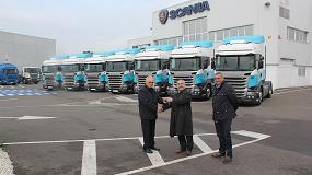 Foto de Tojeiro Transportes renueva su confianza en Scania