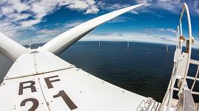 Foto de Siemens firma una ampliación de servicios de larga duración para el parque eólico marino de Rhyl Flats, en Gales del Norte