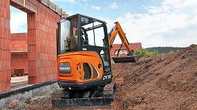 Foto de Doosan lanza la nueva miniexcavadora DX19 de 1,9 toneladas