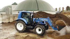 Foto de New Holland explica el gran papel que desempeña el biometano en su perspectiva de un futuro sostenible para la agricultura