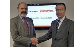 Foto de Cepreven e Interempresas Media firman un convenio de colaboración