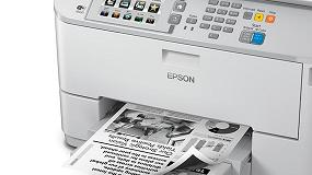 Foto de Epson presenta la impresión profesional de bajo consumo con la máxima fiabilidad y excelentes resultados