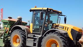 Foto de Gran despliegue de máquinas y soluciones de JCB para el sector agrícola y ganadero