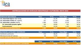Foto de El mercado de vehículos industriales crece un 34% hasta el mes de mayo