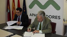 Foto de El Colegio de Aparejadores de Madrid y la Fundación Laboral de la Construcción colaboran en materia de formación