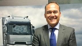 Foto de Sigfredo Moreno, nuevo jefe de ventas de Renault Trucks