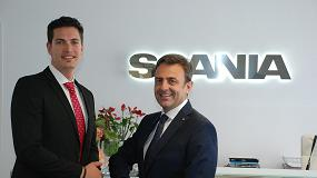 Foto de Francisco Navarro y Roberto San Felipe, asumen funciones de Dirección Comercial de Camiones de Scania Ibérica